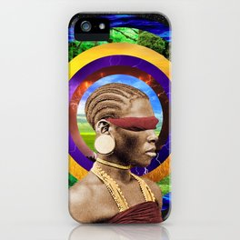 Planetary Rings iPhone Case
