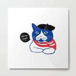 Meowjour Metal Print