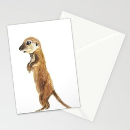 cute little otter Stationery Cards