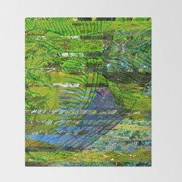 Landscape of My Heart (segment 4) Throw Blanket