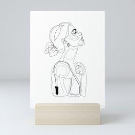 B Color Beauty Mini Art Print