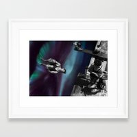 vertigo Framed Art Prints featuring Vertigo by icontrive
