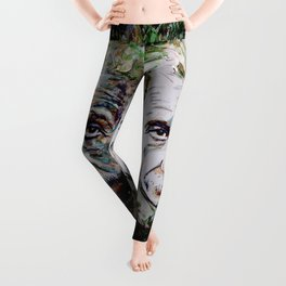 Albert Einstein - brainstorm Leggings