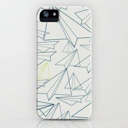 Paper planes iPhone Case