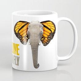 BUTTERFLY ELEPHANT Coffee Mug