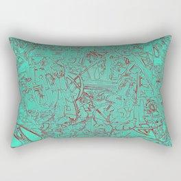 Aumcolored Rectangular Pillow