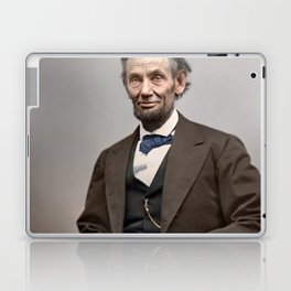 Abraham Lincoln Painting Laptop & iPad Skin