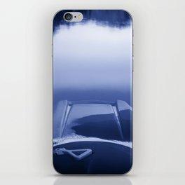 Smooth Sailing kayaking monochrome reflections iPhone Skin