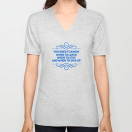 Know What You Want Unisex V-Neck
