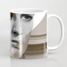 Michelangelo's David & Marlon Brando Coffee Mug