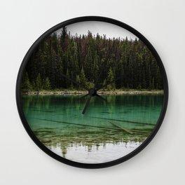 See-through Lake II Wall Clock