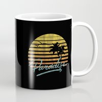 paradise Mugs featuring Paradise by Anthony Troester