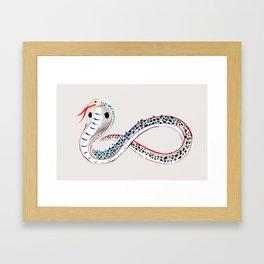 King Cobra Framed Art Print