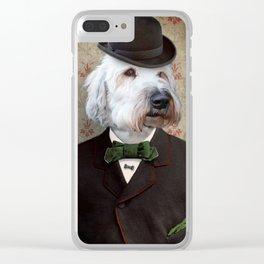 Sir Kansas - Wheaten Terrier Clear iPhone Case