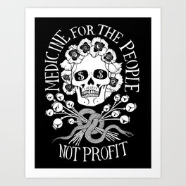 Medicine for the People Art Print