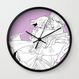 hug! Wall Clock
