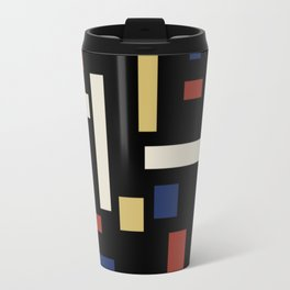 Abstract Theo van Doesburg Composition VII The Three Graces Travel Mug