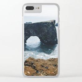 Dyrhólaey I Clear iPhone Case