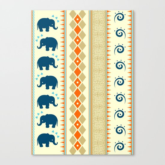 Ethnic Pattern Canvas Print