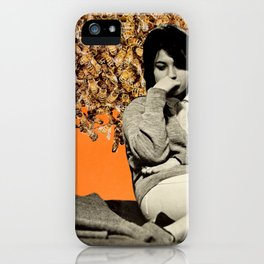 Bees and LPs iPhone Case