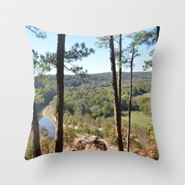 Sparrowhawk Mountain Series, No. 12 Throw Pillow