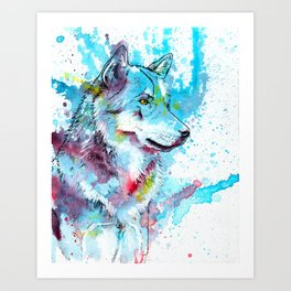 Wild Wolf Art Print