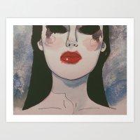Femme fatale IV Art Print