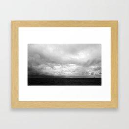 Dark Waters Framed Art Print