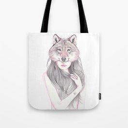 Wolfheart Tote Bag
