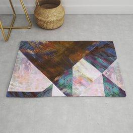 Painted Geometric Rug