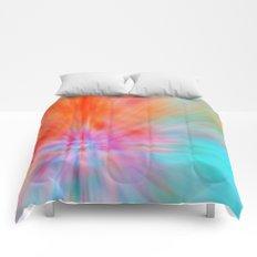 Abstract Big Bangs 002 Comforters