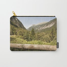 A mountain landscape Carry-All Pouch