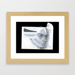 Envelope 1 Framed Art Print