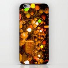 Travel Photography : Fishing Buoys Decoration (Lights, Nets, Tiki Hut) iPhone & iPod Skin