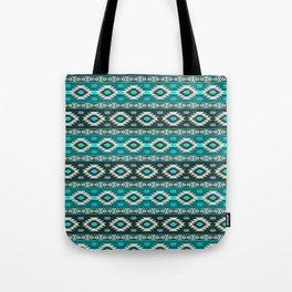 Southwest aztec stripes geometric pattern Tote Bag