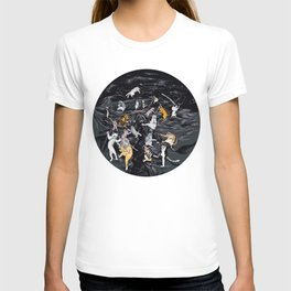 Meowlin Temple T-shirt