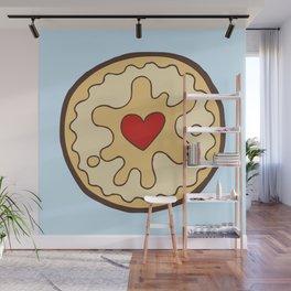 Jammy Dodger British Biscuit Wall Mural