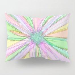 229 - Abstract flower design Pillow Sham