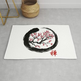 Japanese ENSO ZEN Buddhist SHIRT Rug