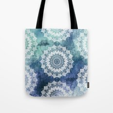 BOHOCHIC MANDALAS IN BLUE Tote Bag