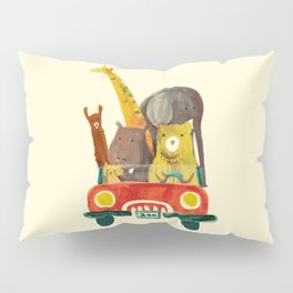 Visit the zoo Pillow Sham