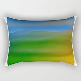 Hillscape Sunset Rectangular Pillow