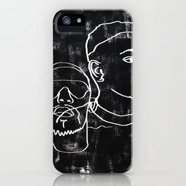 i can see the darkness in me and it's quite amazing iPhone Case