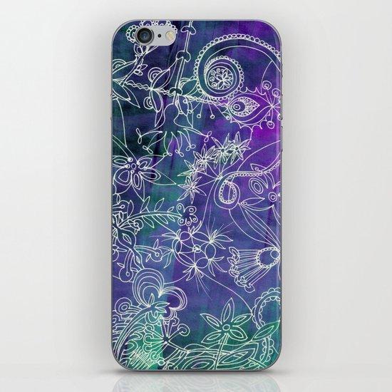 Insidious Flowers iPhone & iPod Skin