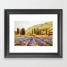 La Provence Framed Art Print