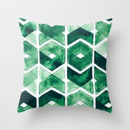 Emepattern Throw Pillow