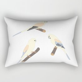 Cute Birds Rectangular Pillow