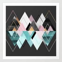 nordic Art Prints featuring Nordic Seasons by Elisabeth Fredriksson