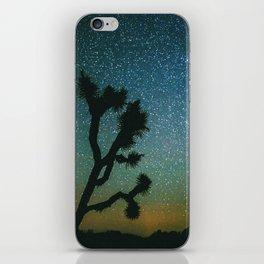 Joshua Tree Milky Way iPhone Skin