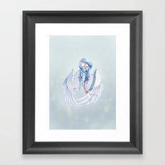 Siren Faerie Framed Art Print